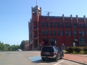 The Former State Capital Sits in Downtown Guthrie