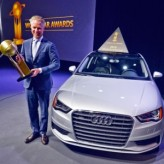 Audi A3 named World Car of the Year at New York Auto Show