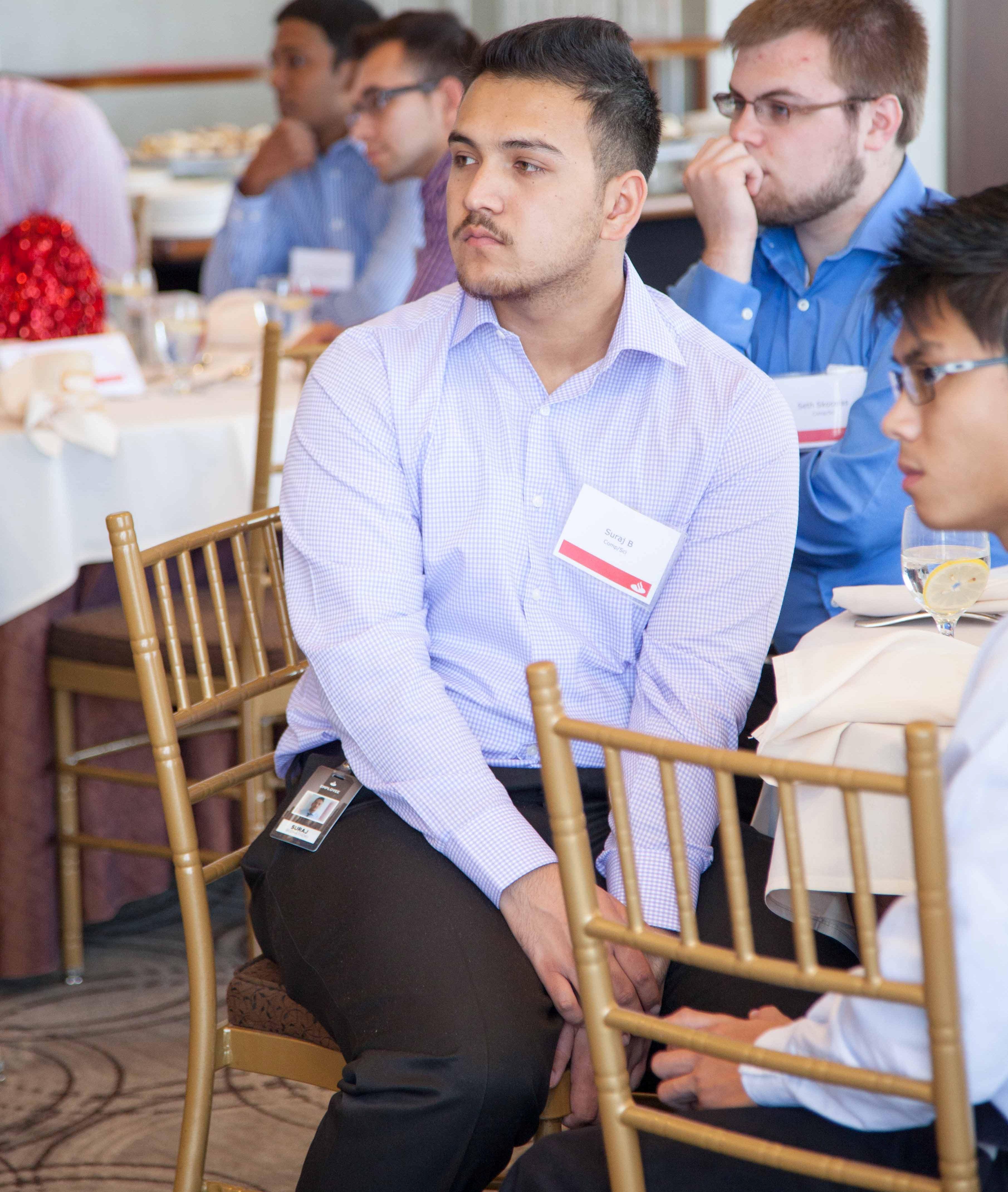 Santander consumer usa interns executives mingle at - Santander consumer finance home ...