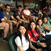 SCUSA interns field trip to see the Texas Rangers at Globe Life Park