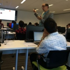 SCUSA summer interns learn how to get LinkedIn