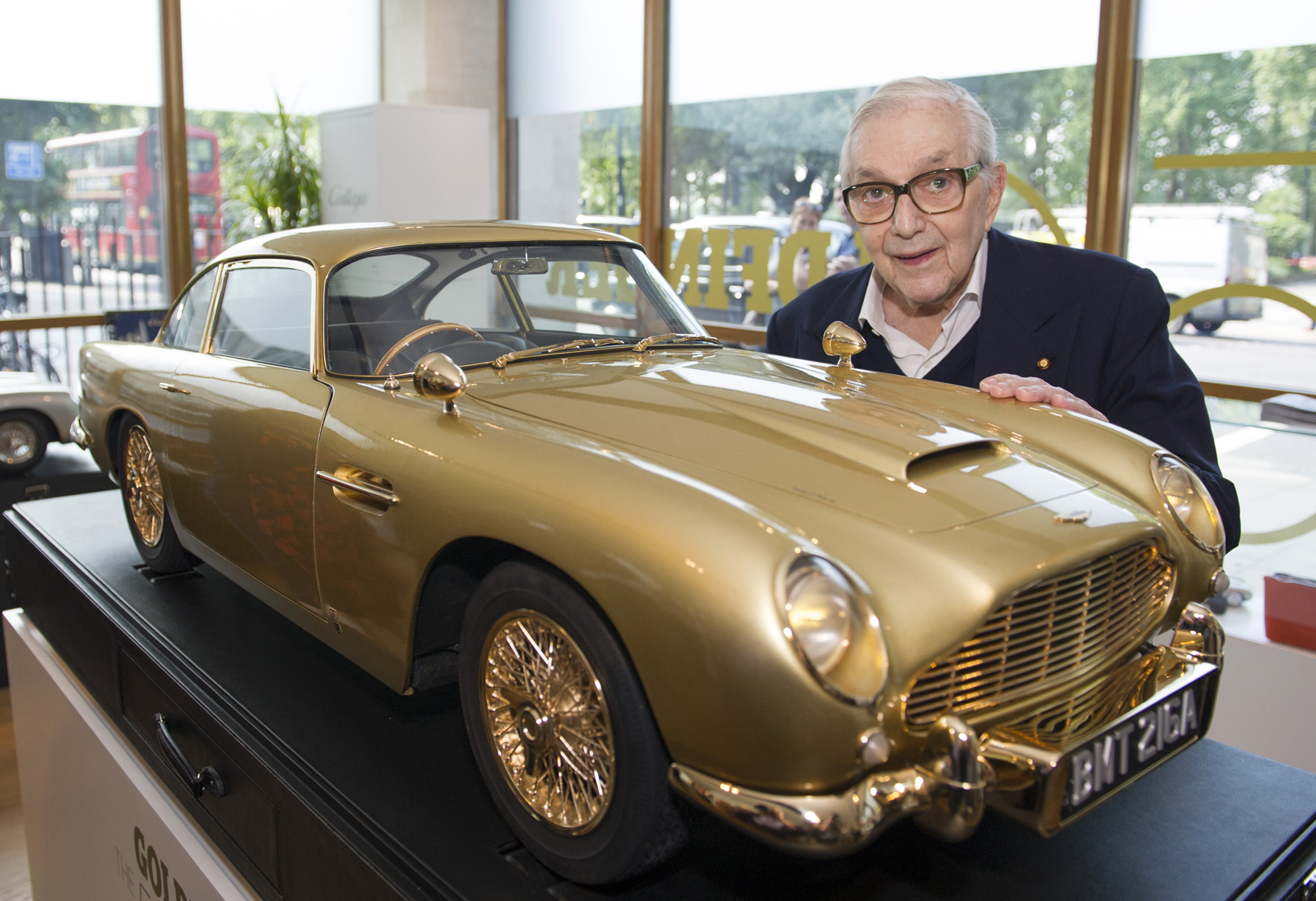 ready to make a bid on james bond model aston martin db5