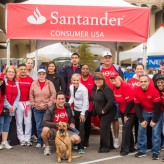 Santander Consumer USA associates show their heart for charity