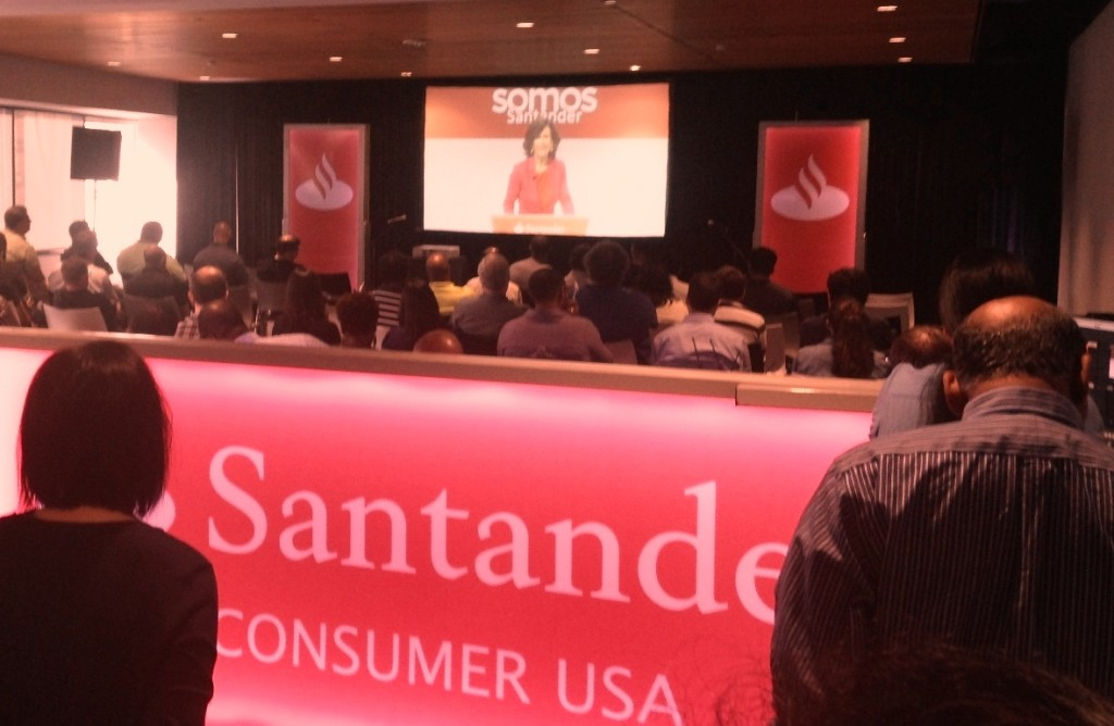 santander employees worldwide meet the new chairman