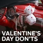 Worst Valentine's Day gifts for car lovers