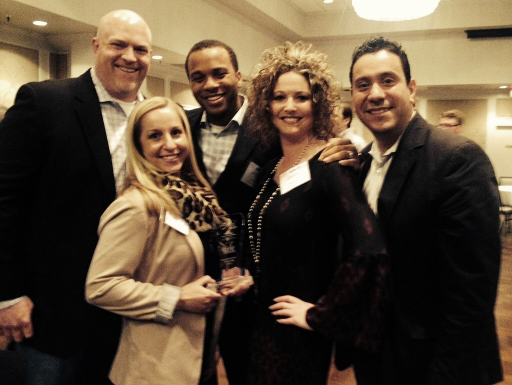 Members of the SCUSA talent acquisition team at the awards event.