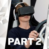 You're about to get behind the wheel of your virtual reality 'dream car'