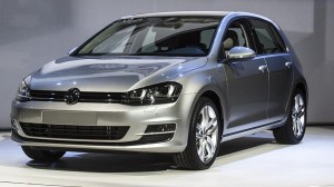 2015 Volkswagen Golf, winner of the compact cars category. Photo: carsupdates.com
