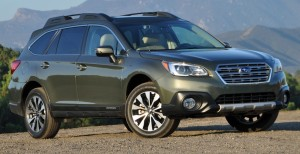 2015 Subaru Outback, winner of the wagons category. Photo: carsupdates.com