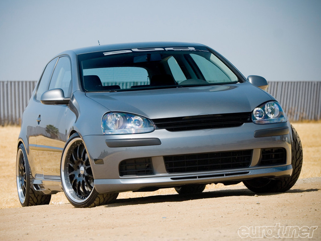 Photo: tuningpp.com 2007 Volkswagen Rabbit one of the best among small cars.