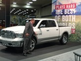 Trucks are big news at the DFW Auto Show because, well, Texas