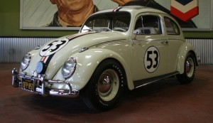 Photo: Barrett-Jackson Herbie the Love Bug goes on the block at Barrett-Jackson auctions.