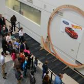 Hot Wheels world record beaten in 'epic' effort by Ford technician, son