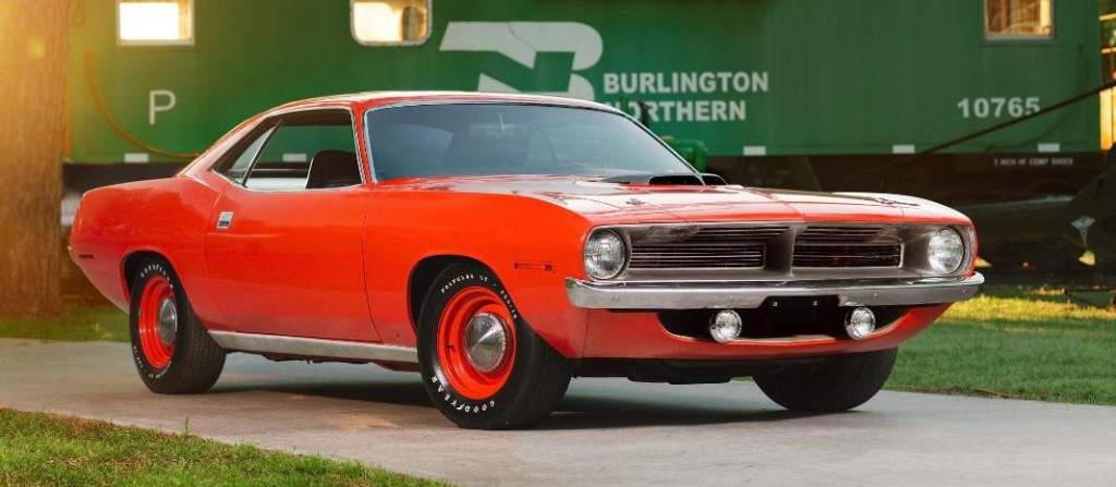 Photo: Theo Civitello/Mecum Auctions 1970 Plymouth Hemi Cuda