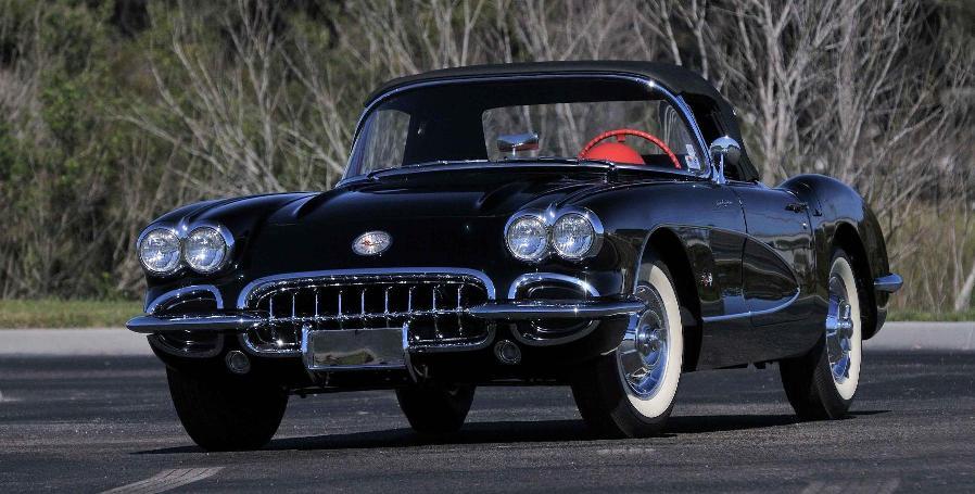 Photo: David Newhardt/Mecum Auctions 1958 Chevrolet Corvette Convertible