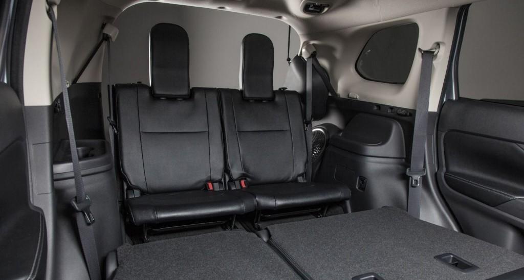 Interior of Mitsubishi Outlander