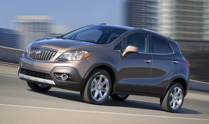 Photo: thecarconnection.com The 2015 Buick Encore made Autotrader's to-10 list for graduates.