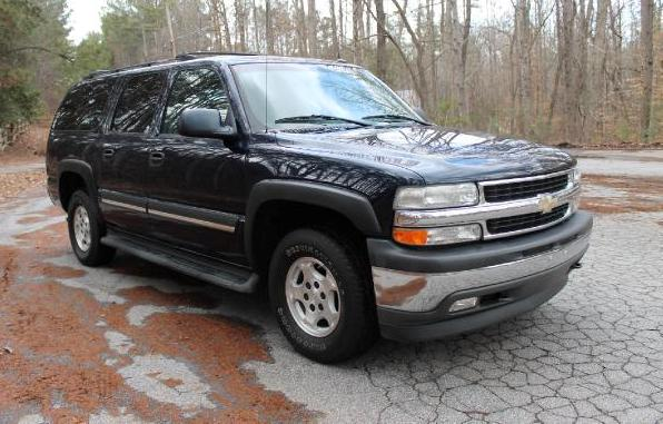 Photo: southernpointeauto.com Chevrolet Suburban – this is a 2005 model – is the highest-ranking SUV on the list.