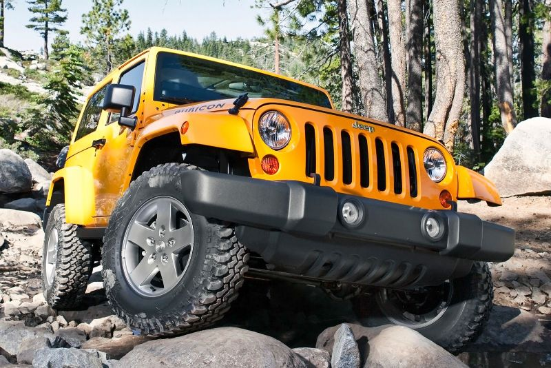 Photo: axlegeeks.com Least expensive 2015 vehicle to insure – Wrangler Sport 4WD.