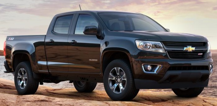 Chevrolet Colorado was one of GM's seven segment winners.