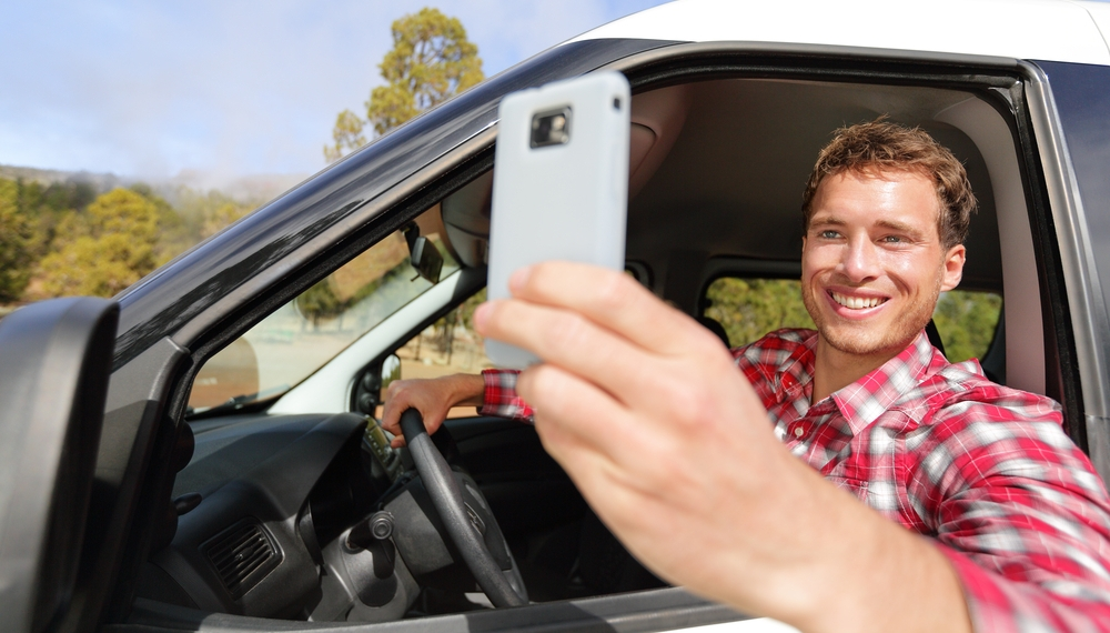 Drivers think they can operate a vehicle and a smartphone at the same time.
