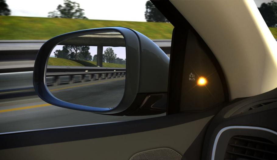 Top technologies include blind-spot monitoring and warning systems.