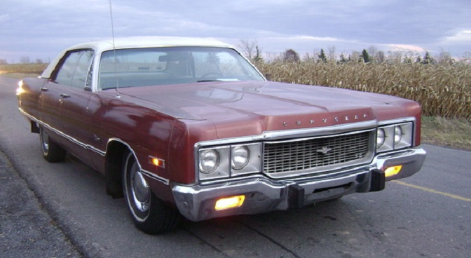 Fuel economy became a serious subject about the same time this 1973 Chrysler hit the road.