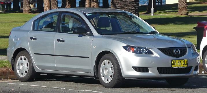 Photo: zombdrive.com 2004 Mazda Mazda3