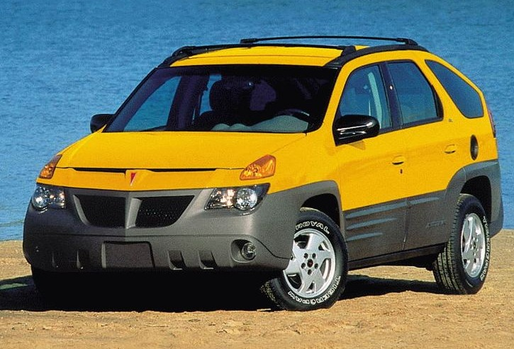 Photo: gmauthority.com The Pontiac Aztek still looking good to millennial shoppers.