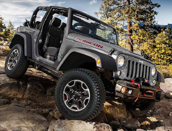 Photo: jeep.com The Wrangler was one of two Jeeps named to the top 10 list.