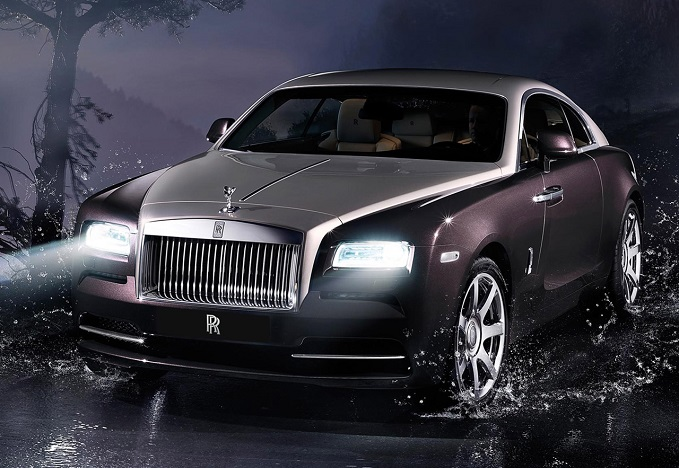 Photo: diseno-art.com The supernatural Rolls-Royce Wraith.