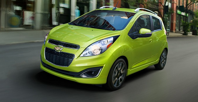 Photo: chevrolet.com Chevrolet Spark is a fuel-efficiency winner.