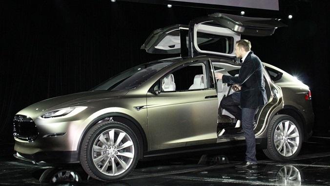Tesla Model X. It's a bird. It's a plane. It's a … truck?