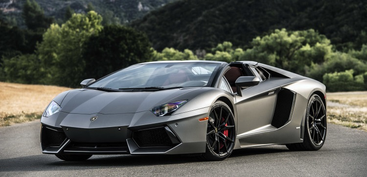 Photo: autoblog.com The Lamborghini Aventador Roadster is expensive to drive, too.