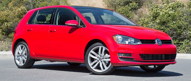 "Photo: karenradleyvw.com Volkswagen Golf lineup is ""full of standout vehicles,"" says Consumer Guide."