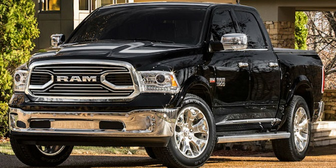 "Photo: forestlakechrysler.com The Ram 1500 earned ""Best Buy"" recognition in the large pickup category."