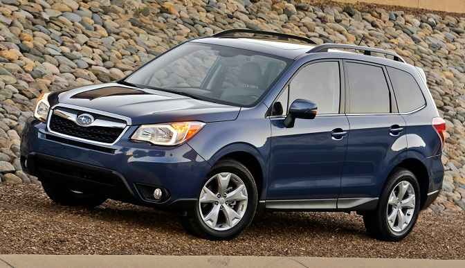 Photo: axlegeeks.com The Forester helped Subaru to the overall award for mainstream vehicles.
