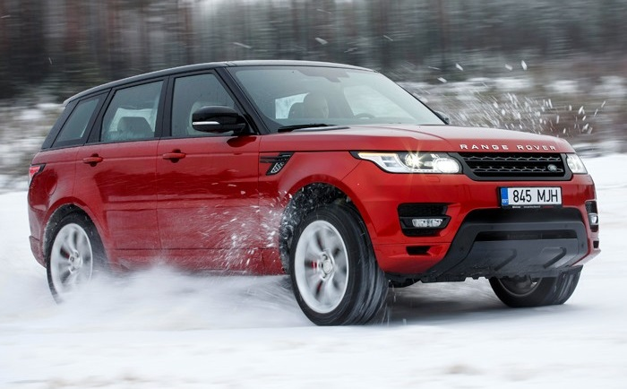 Photo: designboom.com Range Rover Sport was one of three category winners for Land Rover.