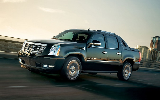 Cadillac Escalade EXT apparently bridges the gap between New Yorkers and Texans.
