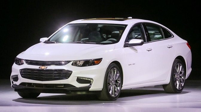 Photo: miamilakesautomall.com The 2016 Chevrolet Malibu makes its mark in North American car awards.
