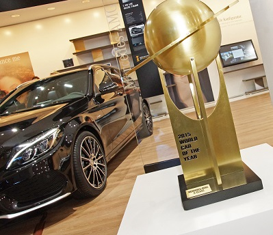 Photo: World Car of the Year Last year's overall winner was the Mercedes-Benz C-Class.