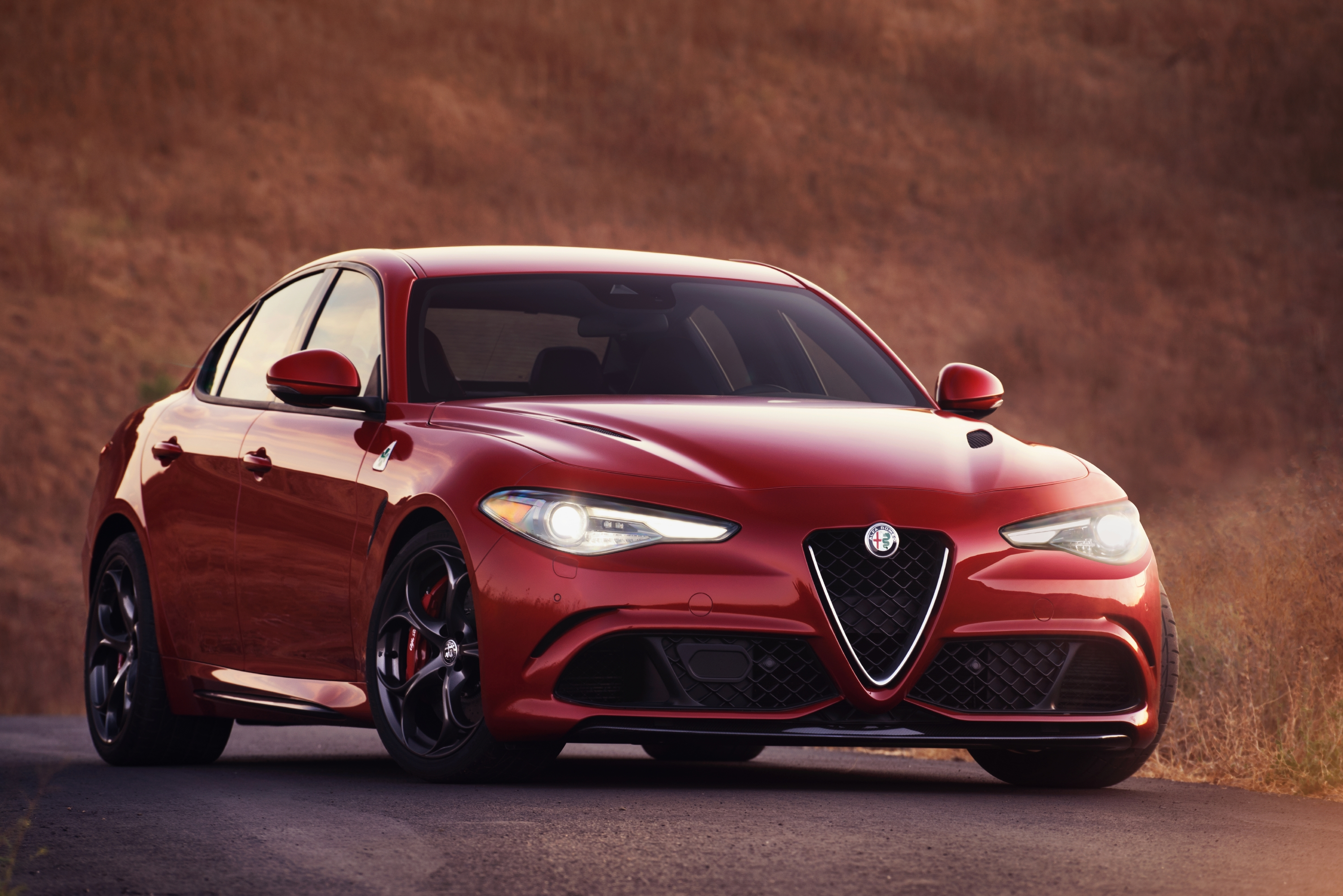 For a bigger budget, or just to dream, see the Alfa Romeo Giulia Quadrifoglio.