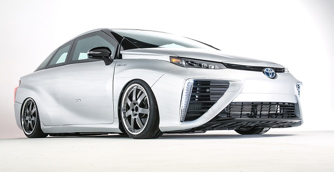The Toyota Mirai was chosen 2016 World Green Car.