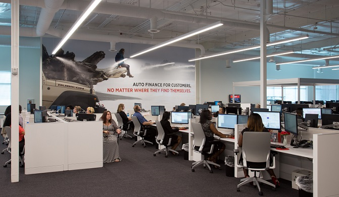 A look inside Santander Consumer USA's new offices.