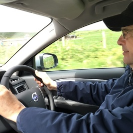 An American needs a brave heart to drive on 'wrong' side in Scotland