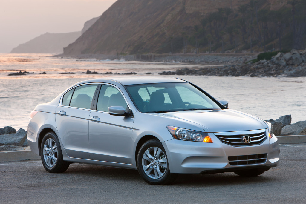 The top 10 American-made models included the Honda Accord.