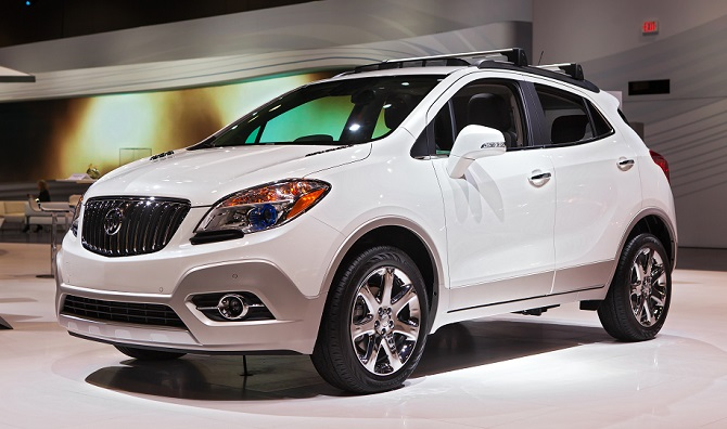 Buick Enclave is American as apple pie (see below).