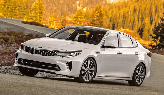 Kia Optima named best family sedan of 2016.