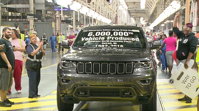 American-made vehicles win competition -- Jeep Grand Cherokee