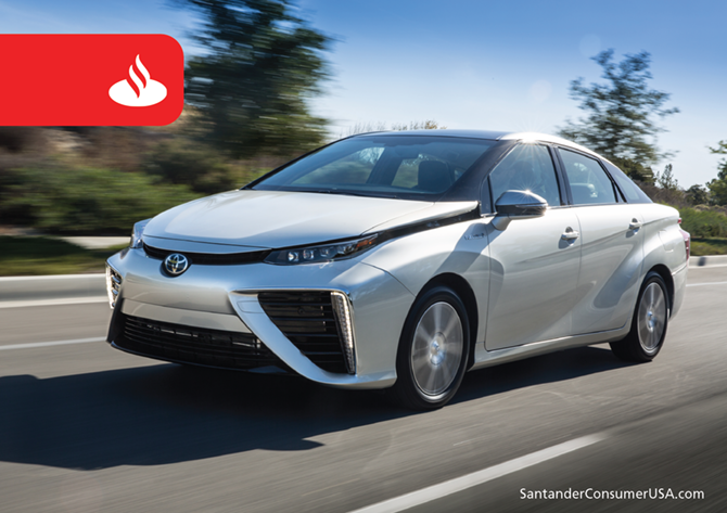 Hydrogen-powered Mirai gave a boost to Toyota.